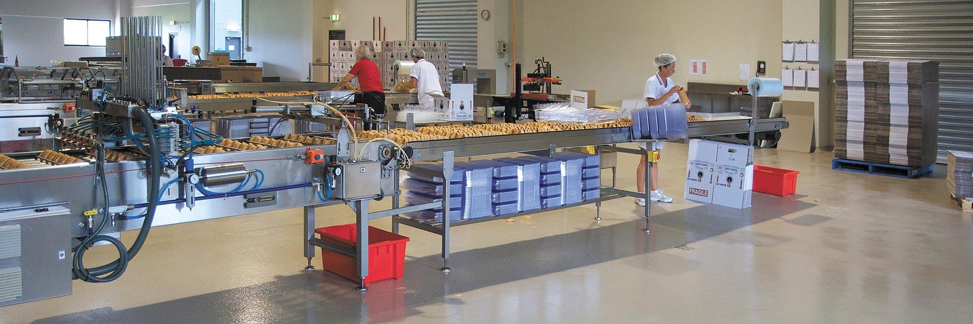 Scandinavian Cone Bakery Flooring